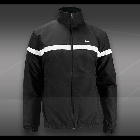 9e1b505920b4 NWT NIKE MEN WOVEN JACKET SOCCER FULL ZIP S Black