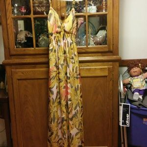 Summer long dress new never worn