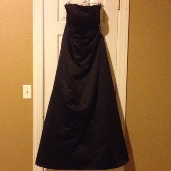 David's Bridal Dress Black
