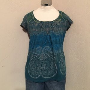 Colorful top size small