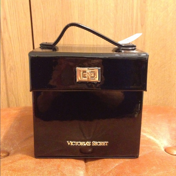 outlet store 81755 b0da3 Victoria Secret jewelry box black NWT
