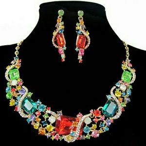 Gorgeous  breathtaking Amazing multicolored set