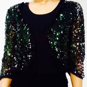 Cute sequin cardigan
