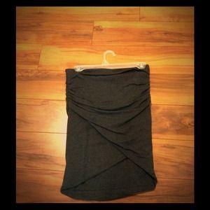 Never worn cotton grey skirt