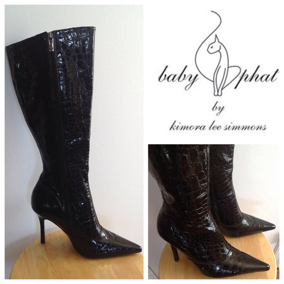 89 Off Baby Phat Boots Sale🎀baby Phat🎀 Genuine Leather