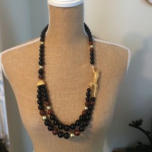 Bold vintage necklace