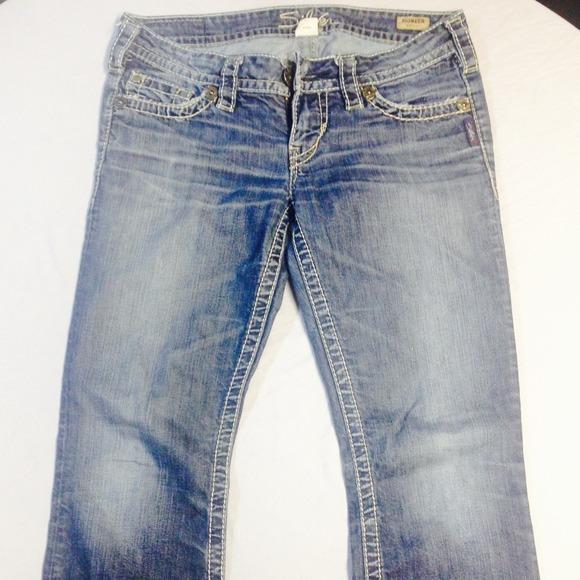 65% off Silver Jeans Denim - Women's Silver Pioneer Bootcut Jeans ...