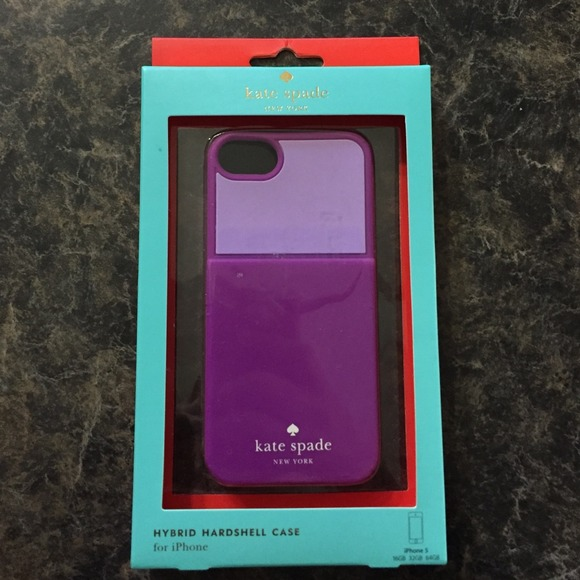 low priced a3565 cb125 Kate Spade iPhone 5 case with card holder NWT
