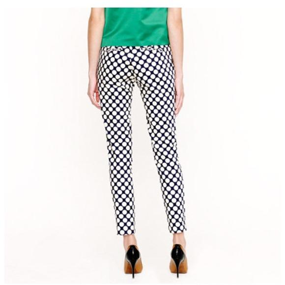 66% off J. Crew Pants - J. Crew Printed Capri Pants in Pop Art ...