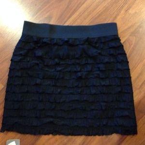 Layer ruffle skirt