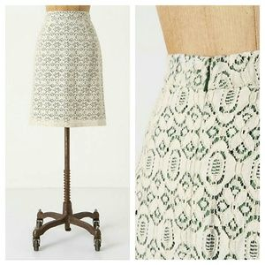 {anthropologie} Aine Pencil Skirt