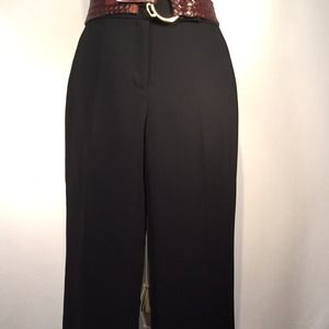 NWT Tahari Classic Black, Fully Lined Trousers