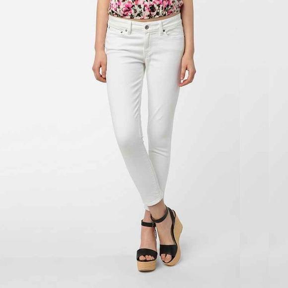 43% off Levi's Pants - Levi's High Rise Skinny Ankle Crop Jeans ...