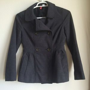 H&M Jackets & Blazers - Gray Pea Winter Coat