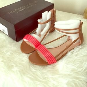 sole society coral sandals