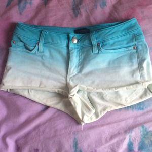 cute Bebe worn Bebe shorts