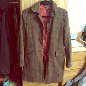 Gap Tweed Coat