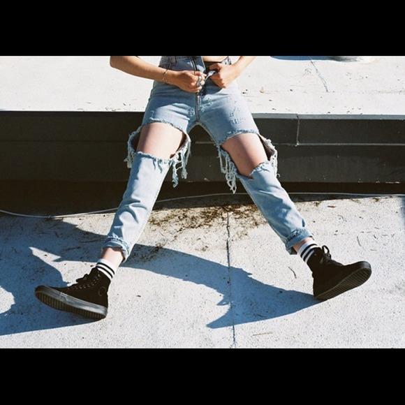 Unif Jeans Twerk Poshmark