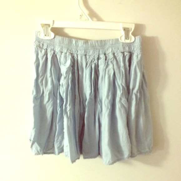 60 melville dresses skirts baby blue skirt