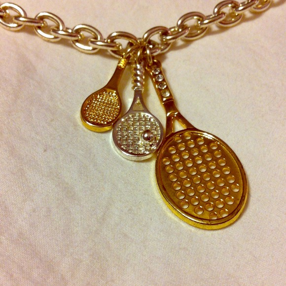 Jewelry - *FINAL PRICE* S. Williams tennis racket necklace