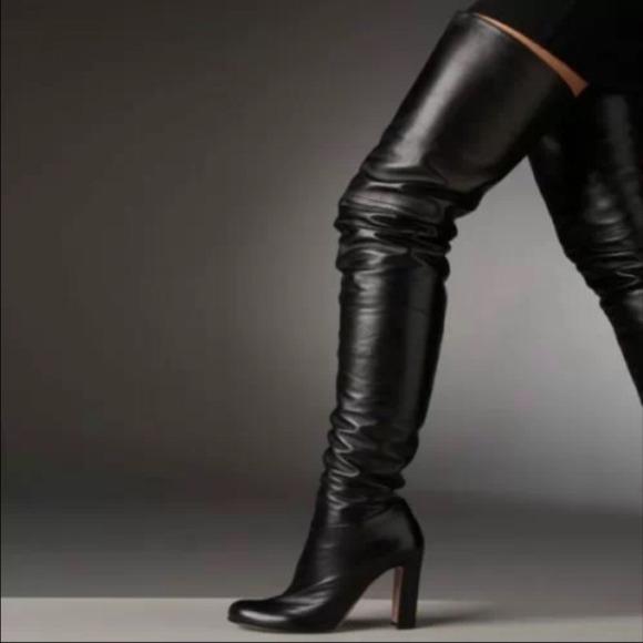 2cf90c19a Prada Shoes | Over The Knee Boots | Poshmark