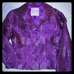 Tracy Reese Brocade Jacket. NWOT Size 10