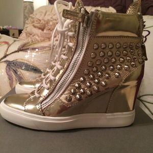 Giuseppe Zanotti Shoes - Giuseppe sneaker wedges