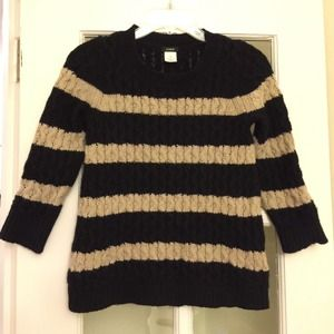 J.Crew fisherman cable knit sweater