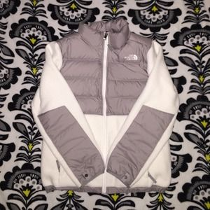 North Face Fleece with Down