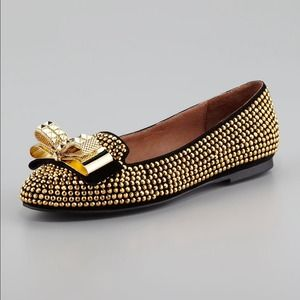 Jeffrey Campbell studded flats