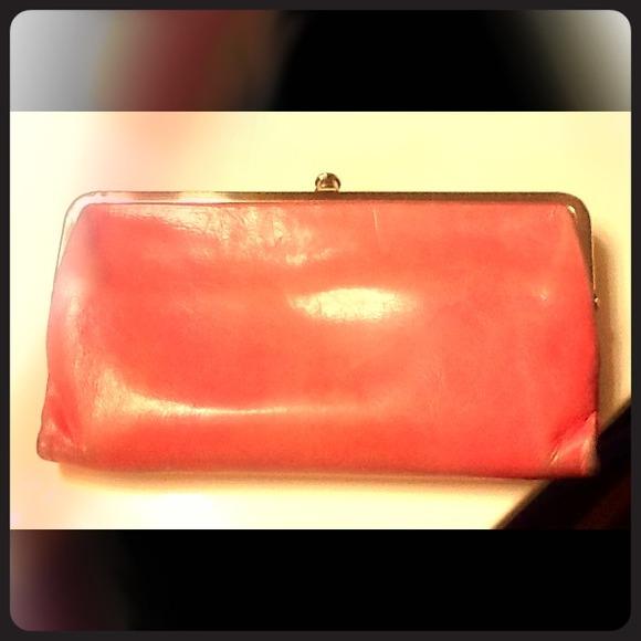 Hobo Bags Lauren Double Frame Wallet Clutch Begonia Poshmark