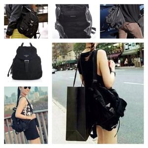 prada shoulder bag black - prada vela medium backpack, red prada purses