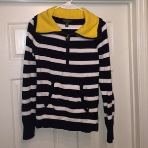 Ralph Lauren Sweaters - 💙💛Ralph Lauren Striped 1/4 Zip