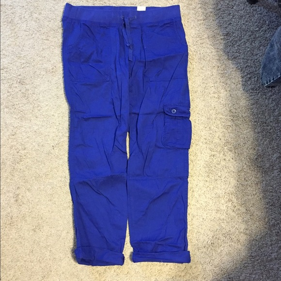 64% off GAP Pants - Royal blue cargo pants from Daina's closet on ...