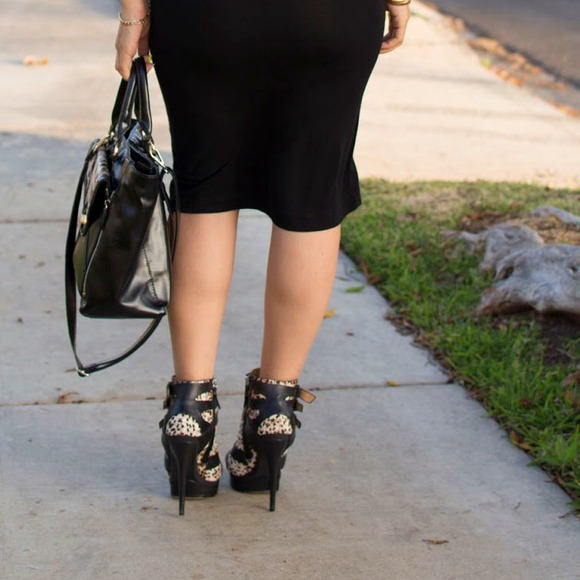 L.A.M.B. Shoes - LAMB Leopard Print Booties