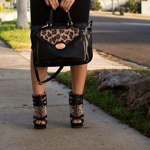 L.A.M.B. Shoes - LAMB Leopard Print Booties