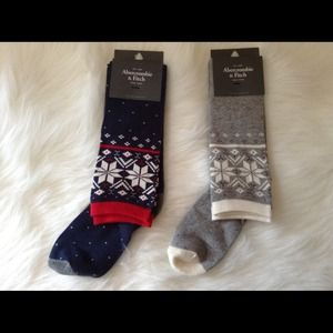 Abercrombie & Fitch Accessories - Abercrombie & Fitch holiday socks