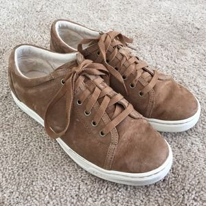 UGG Shoes - Ugg Tomi Sneakers in Chestnut Suede