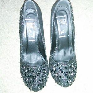 Black Heels W/ Sparkles
