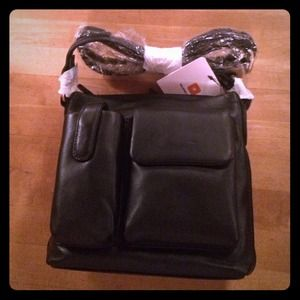 Wilson's Leather Side Strap Purse