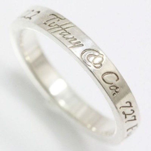 Tiffany Amp Co Tiffany Engraved Ring From Ketevan S