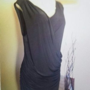 Cameo Dresses - NWOT black rushing 3xl long dress
