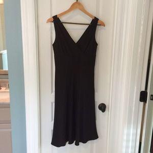 J.Crew Sophia Dress 100% Silk Little Black Dress!!