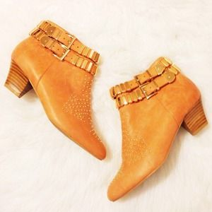 NWT Jeffrey Campbell Benetar Studded Ankle Boots