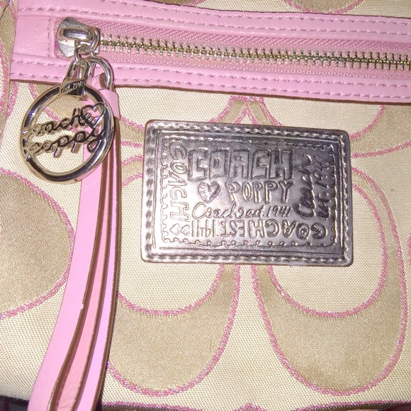 Coach bags poppy purse champagne tan and light pink poshmark coach poppy purse champagne tan and light pink mightylinksfo