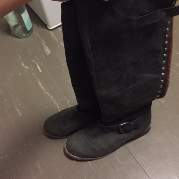 63 Off Steve Madden Shoes Steve Madden Black Boots With