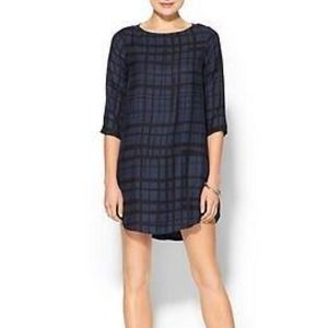 BB Dakota Plaid Print Dress