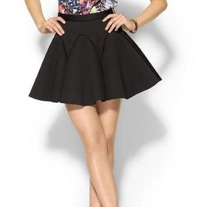 Cameo Reflect Black Skirt