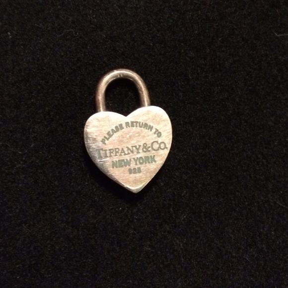 Tiffany & Co Heart shaped 925 silver spring locket