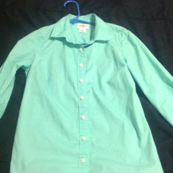 38 Off J Crew Tops J Crew Long Sleeve Polo Shirt From